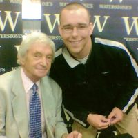 Richie Benaud at Waterstone's, Deansgate, Manchester