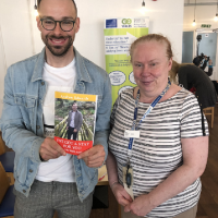 "The 1,000th copy of ""I've Got a Stat for You- My Life with Autism"" purchased by Ann Rattigan, Wednesday 3rd April 2019 @Wrexham Enterprise Hub"