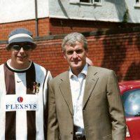 Mark Hughes at Nightingale House, June 2003